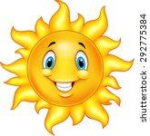 cute cartoon sun | Shutterstock .eps vector #292775384
