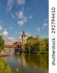 city landscape in chernivtsi.... | Shutterstock . vector #292794410