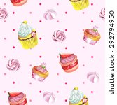 watercolor seamless pattern... | Shutterstock .eps vector #292794950