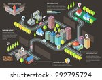 modern infographic option... | Shutterstock .eps vector #292795724