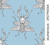 Monochromatic Stag Beetle...