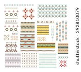 vector illustration big set... | Shutterstock .eps vector #292810079