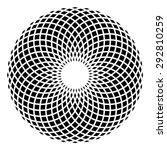 circle mandala vector ... | Shutterstock .eps vector #292810259