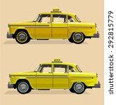 Vector Graphic Yellow  Retro...