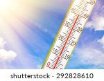 a very hot  sunny day in summer | Shutterstock . vector #292828610