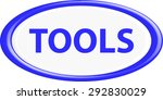 button tools. the round shape. ... | Shutterstock .eps vector #292830029