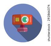webcam flat icon. modern flat...   Shutterstock .eps vector #292866374