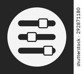 volume control icon | Shutterstock .eps vector #292871180
