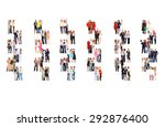 many colleagues together we... | Shutterstock . vector #292876400