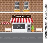 Hair Salon With Street...