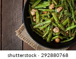 Green Beans Fried With Chicken...