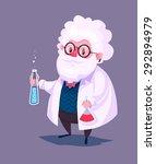 funny  illustration of... | Shutterstock .eps vector #292894979