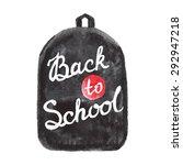 back to school text vector... | Shutterstock .eps vector #292947218