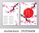 vertical banners with... | Shutterstock .eps vector #292956608