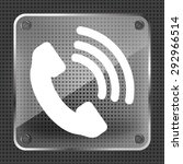 glass telephone receiver vector ...