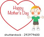 happy mothers day | Shutterstock .eps vector #292979600