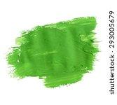green ecology acrylic brush... | Shutterstock .eps vector #293005679