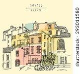 View Of Sospel  France  Europe...