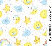 children illustration  cute... | Shutterstock .eps vector #293017409