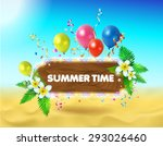 vector background. illustration ... | Shutterstock .eps vector #293026460
