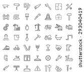 outline web icons set  ...   Shutterstock .eps vector #293040419