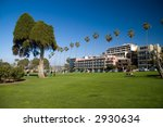 Ellen Browning Park in La Jolla, California - stock photo