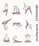 Yoga Poses  Yoga Pants Set