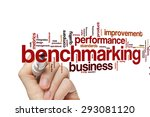 benchmarking concept word cloud ... | Shutterstock . vector #293081120