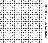 tile black and white vector... | Shutterstock .eps vector #293081330