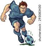 vector cartoon clip art... | Shutterstock .eps vector #293083430