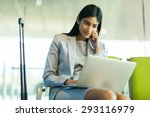 successful indian businesswoman ... | Shutterstock . vector #293116979