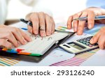 business accounting  | Shutterstock . vector #293126240