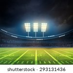 bright spotlights | Shutterstock . vector #293131436