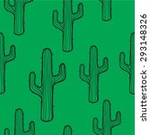 cactus seamless pattern... | Shutterstock .eps vector #293148326