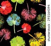 crazy beautiful imprint... | Shutterstock .eps vector #293164394