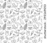 illustration cute hand drawn...   Shutterstock . vector #293169053