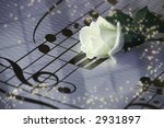 flower on a notesheet | Shutterstock . vector #2931897