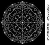 line drawing mandala  sacred... | Shutterstock .eps vector #293226530
