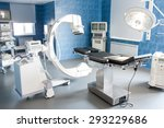 Stock photo operating room with x ray medical scan 293229686
