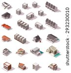 Isometric Icon Set Representin...