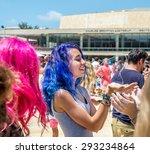 tel aviv  israel   july 03 ... | Shutterstock . vector #293234864