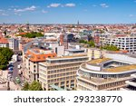 view of berlin downtown from... | Shutterstock . vector #293238770
