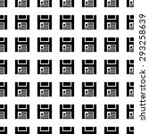 diskettet vector icon seamless... | Shutterstock .eps vector #293258639