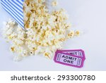 Summer Movie Theme With Popcorn ...