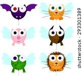 illustration of animals...   Shutterstock . vector #293301389