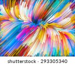 color swirl series. composition ... | Shutterstock . vector #293305340