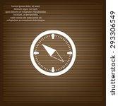 compass . icon. vector design