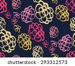 floral decorative seamless... | Shutterstock .eps vector #293312573