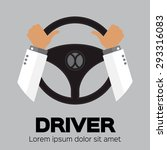 driver design element with... | Shutterstock .eps vector #293316083