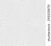 halftone effect background with ... | Shutterstock .eps vector #293320070